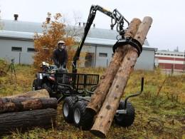 Vyvážečka za čtyřkolku nebo malotraktor