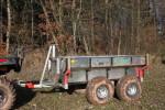 Multifunkční vyvážečka za malotraktory