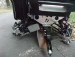 Zámek tlumičů pro ATV pracovní čtyřkolky