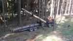 ATV vyvážečka pro čtyřkolky