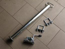 Podpěrná noha pro vozík za čtyřkolky