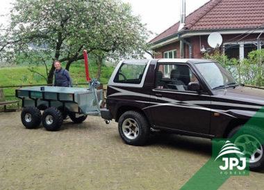 Multifunkční ATV přívěs Profi Dělník a terénní automobil