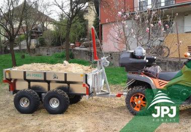 Multifunkční terénní přívěs Profi Dělník a pracovní ATV