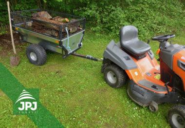 Vozík za čtyřkolku Zahradní a zahradní traktor