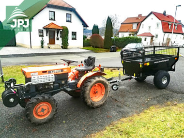 alotraktor a príves za štvorkolku Farmár so zvýšením bočníc