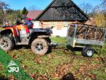 Vozík za čtyřkolky Zahradník